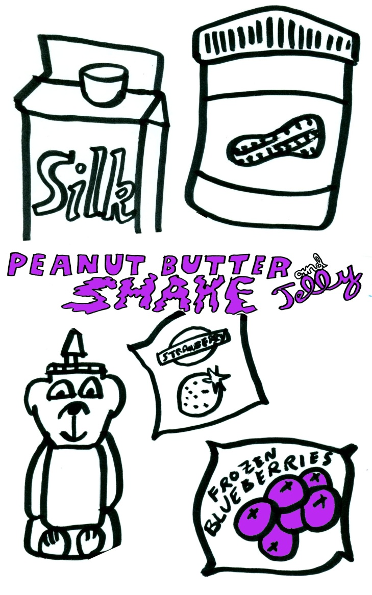 Peanutbutter and Jelly Shake